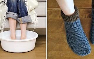 Можно и нужно ли при повышении температуры парить ноги