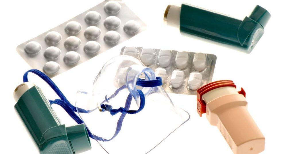 медицинские принадлежности для лечения астмы