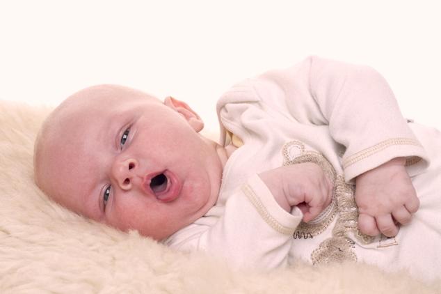 грудной ребенок кашляет