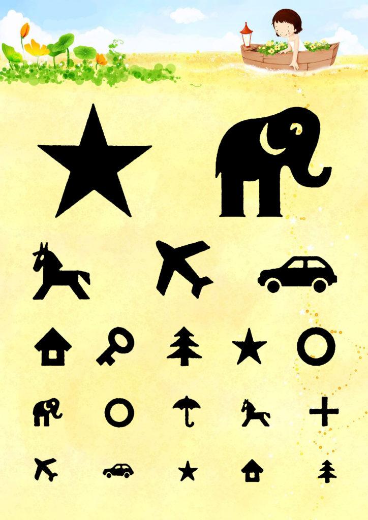 таблица Орловой для проверки зрения