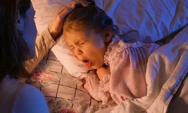 кашель у ребенка во время сна