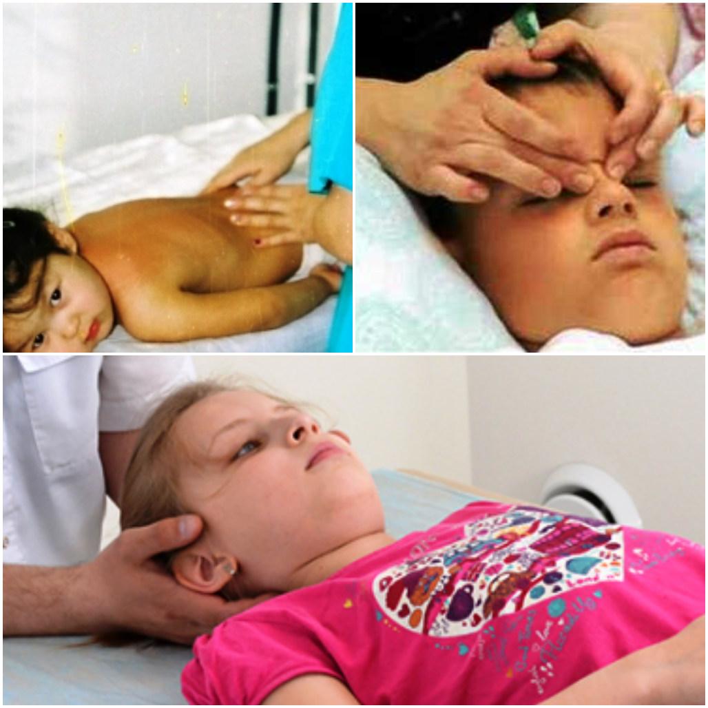 точечный массаж детям