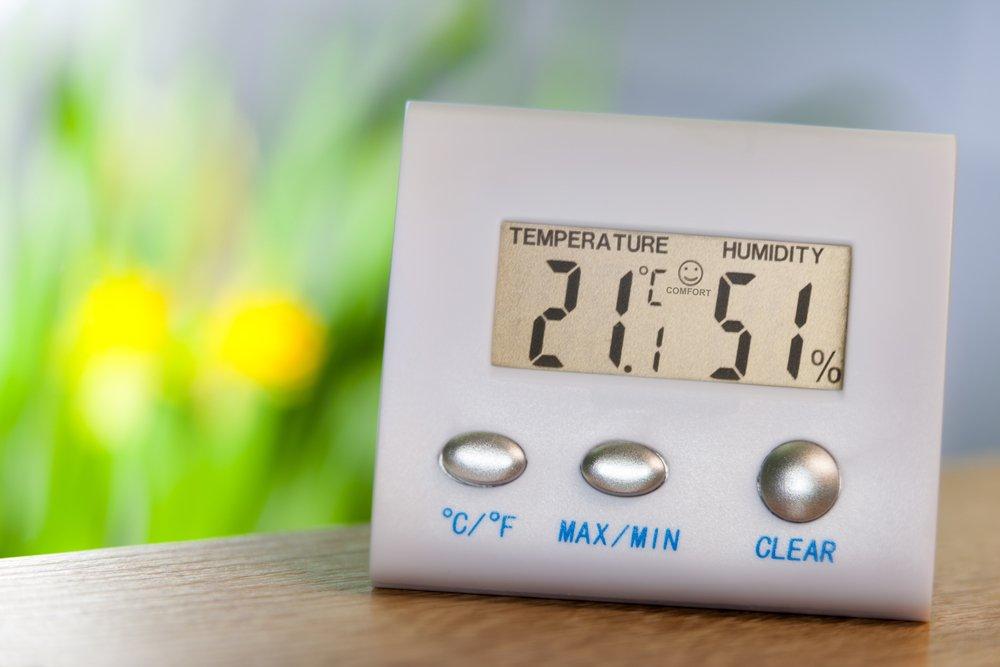 термометр и влагомер