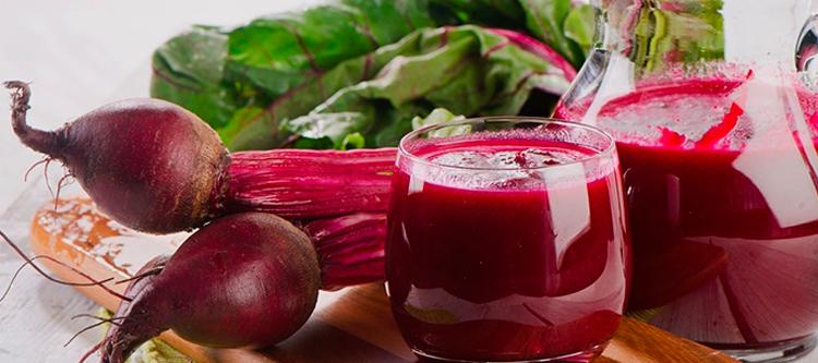 буряк, сок, Красящие напитки и продукты