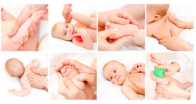техника массажа маленькому ребенку