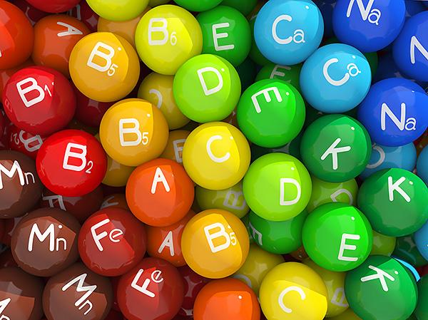 шарики витаминов