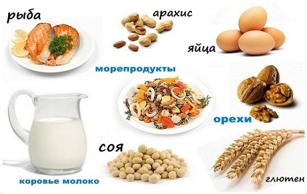 продукты провоцирующие глютен