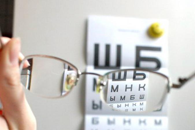 очки и буквы