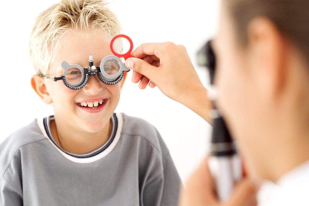диагностика глаз у ребенка