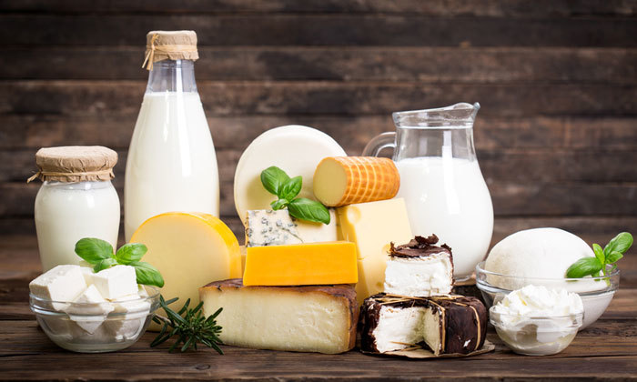 Продукты кисломолочный