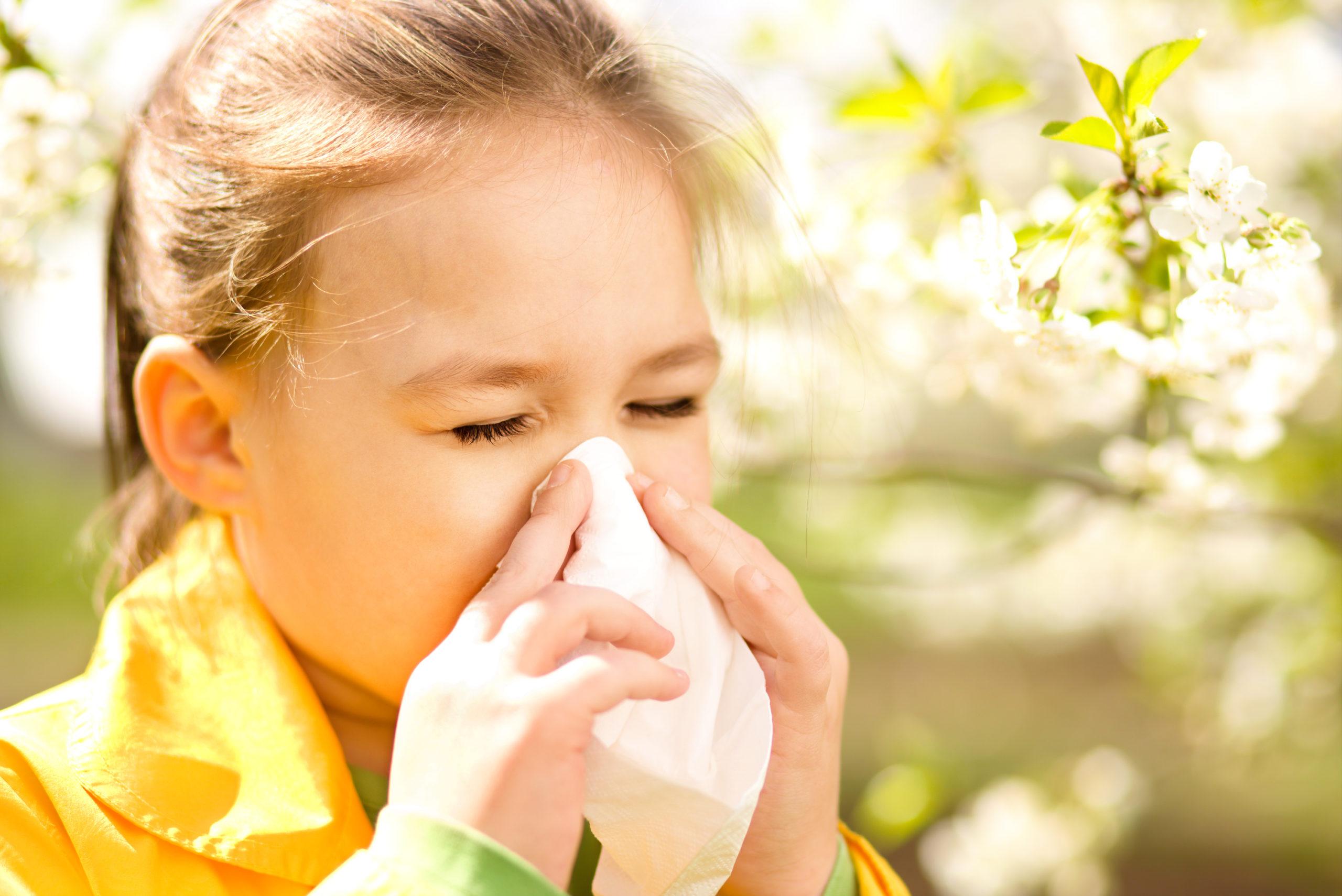 Ребенок, аллергия, нектарин