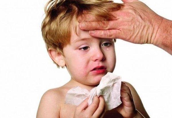 аллергическая перо реакция, Ребенок