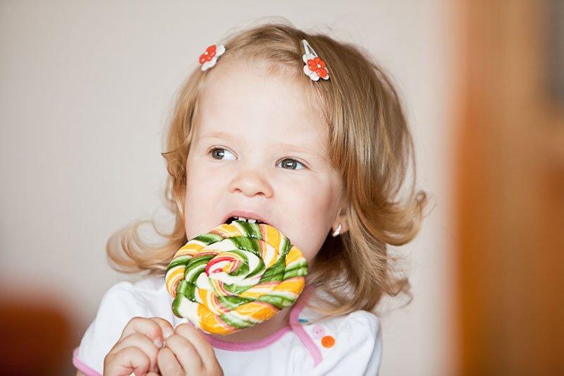 Ребенок, аллергия на сладости
