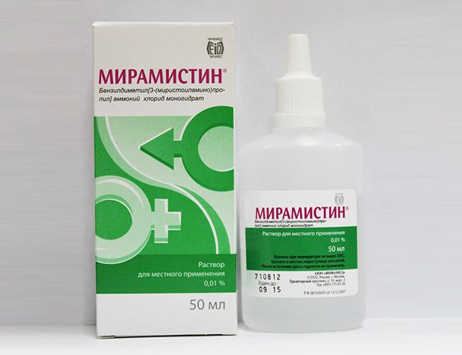Мирамистин, аллергия на комара